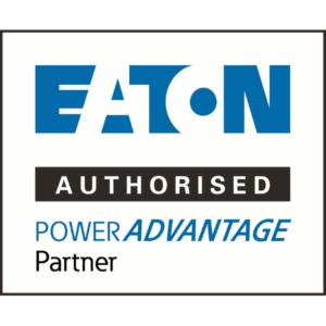 EATON Authorised POWER ADVANTAGE PARTNER Logo